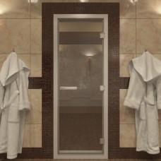 Дверь для Хамама прозрачная