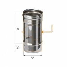 Шибер (430/0,5 мм) Ф115