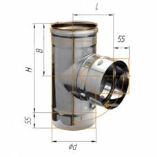 Тройник-Д 90 (439/0,8мм)  Ф115